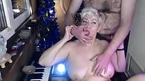 Milf Webcam Slut  Big Mature Nipple Torment  Bl