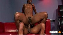 Black twink drilling ass hole