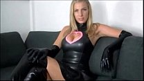 Latex Mistress Dominates Losers JOI