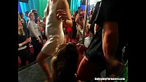 Excited party chicks suck cocks in club orgy - download porn videos