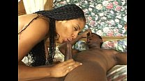 Black pussy fitting black cock preview image