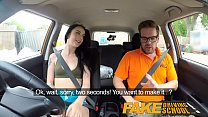 Fake Driving School Cum covered pussy after gamer minx strikes sexual deal - 9Club.Top