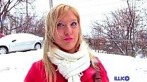 Christine, blonde sexy baise un mec devant sa c... Thumbnail