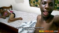 Screenshot Real African Am ateur Teen Couple le