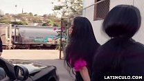 Officer fucks his partner and a hooker - Victoria June and Gina Valentina - 9Club.Top