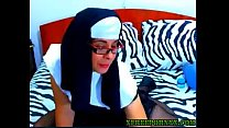 Sexiest Nun  Ever Playing With Herself On Cam(woocams Lsl)