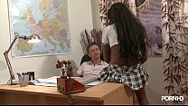 Young Ebony After School Vidéo porno video