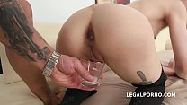 Wild Kira Roller Gets Gangbanged with Cum in Glass Finish thumbnail