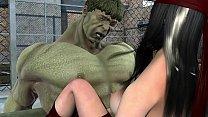 hulk and elektra fucking thumbnail
