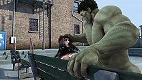 hulk and elektra fucking