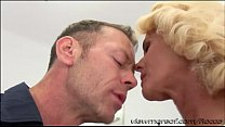 Director Rocco fucks his new blonde chick Dyana Hot in his couch