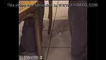 Image: Girl Pees on Fast Food Floor