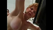 Red Haired Granny Likes To Getfucked In Her Kit