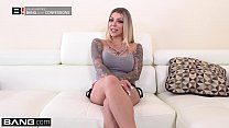 Tattooed nympho Karma Rx fucks her neighbors husband thumbnail