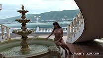 Nude in public. Seafront Image