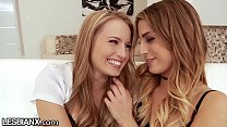 Free download video bokep LesbianX Scarlett Sage has Her First GG Anal with Kristen Scott!
