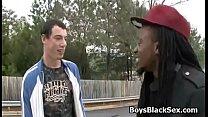 Black Muscular Gay Dude Fuck White Sexy Boy 04