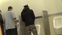 Hot Gay teens having fun in Public bathroom