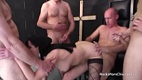 30 Second Cu mmer Cum In Nuns Mouth Before Gangbang