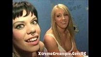 Gloryhole Creampie porn image