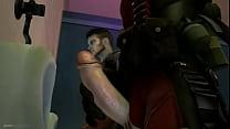 [Video ] Deadpool y DmcDante están teniendo un buen rato en el baño de hombres