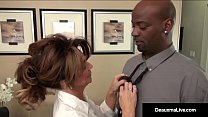 Milf Boss, Deauxma, Can't Fire Her Best Worker's Black Cock! - 9Club.Top