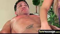 Husband Cheats with Masseuse in Room! 24