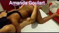 Amanda Goulart  Fazendo Suruba Com Casal