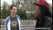 Muscular Black Dude Fuck White Gay Boy Hard - Blacks On Boys 04