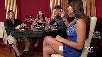 Two Incredible babes fucked hard in the casino - 9Club.Top