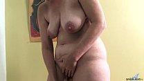 Ray Lynn mature dildo masturbation