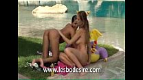 Pool Lesbian Sex pornhub video