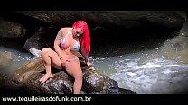 Débora Fantine Transando Com Amigo Na Cachoeira
