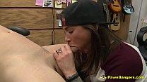 Hot Busty Brunette Teen Gives Fantastic BJ & Pussy Bang For Fast Cash Vorschaubild