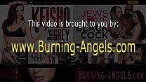 Goth babe rides black rod - Download mp4 XXX porn videos
