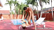 Young Girl Carolina Sweets Swimming Lessons Take A Wild Turn - Download mp4 XXX porn videos