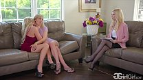 GirlGirl.com - Kali Roses' Stepmother Christie Stevens Fuck The Family Therapist Charlotte Stokely thumbnail