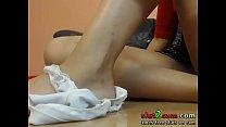 High Heels Fetish Russian Camgirl - WWW.SLUT2CAM.COM Vorschaubild