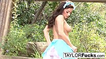 Taylor Vixen Plays With Her Amazing Tits And Pussy