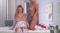 The Hottest Busty Blonde Nurse scene you will ever see - teen sex free thumbnail