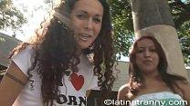 Nikki Montero pickup an Ugly Gir on the streets