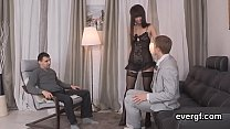 Bankrupt stud lets spicy friend to ride his exgf for cash Preview