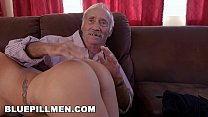 BLUE PILL MEN - Young Presley Carter Takes Old ...'s Thumb
