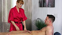 Redhead Penny Pax loves massage and anal sex pornhub video