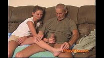Daddy fucks Daughter while mom's at work thumb