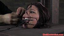 Restrained sub punished with bastinado video