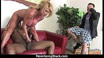 Hot mom receive a huge black dick porn video 1