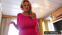 13582 KELLY MADISON Cum Covered Titties Cruise preview