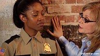 Ebony Lesbian Gets DPd's Thumb