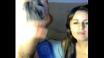 casal exibindo na webcam